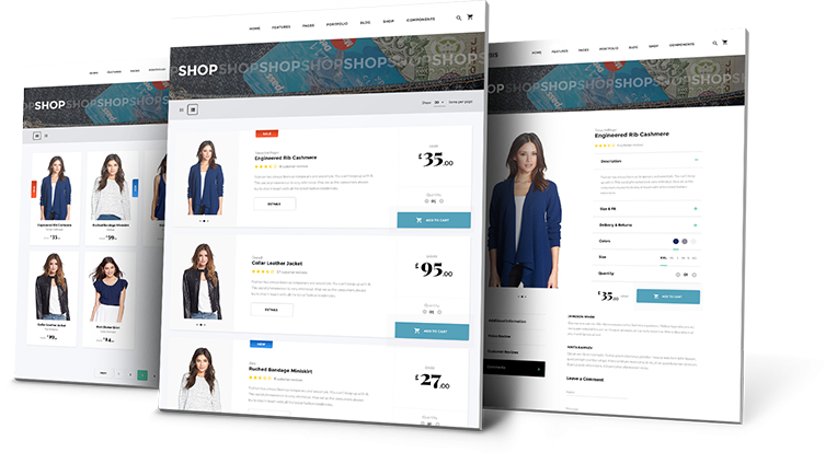 Ecommerce Shop Design